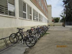 Zona de fácil acceso en bicicleta